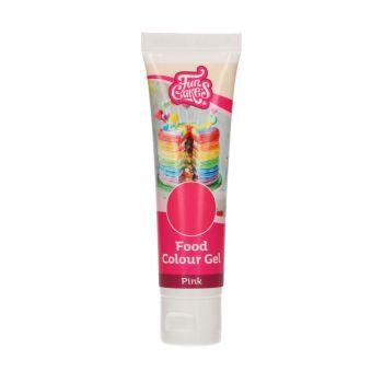 Colorant alimentaire en gel Funcakes rose
