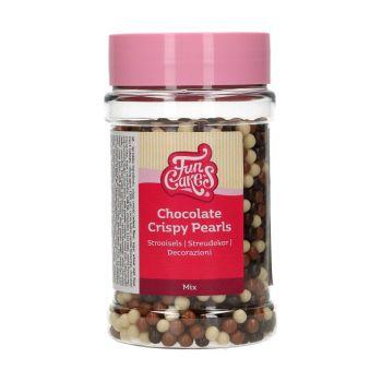 Perles croustillantes mix chocolat Funcakes 155gr