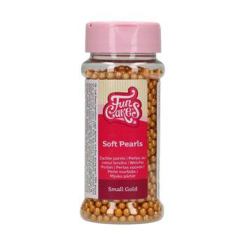 Perles en sucre funcakes or mat 70gr