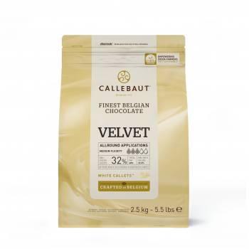2.5KG Galet de chocolat blanc Velvet Callebaut