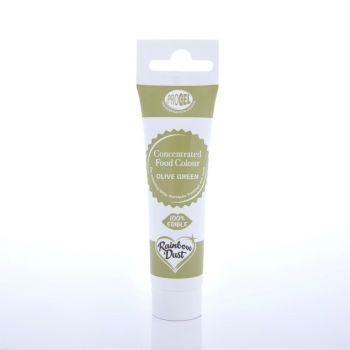 Tube colorant ProGel® vert olive