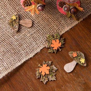 Assortiment automne en bois 9pcs