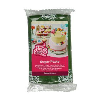 Pâte à sucre Funcakes Vert forêt 250gr