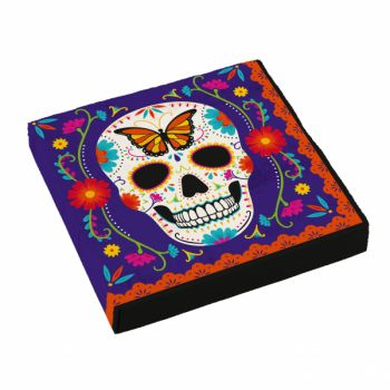 16 Serviettes Day of the dead