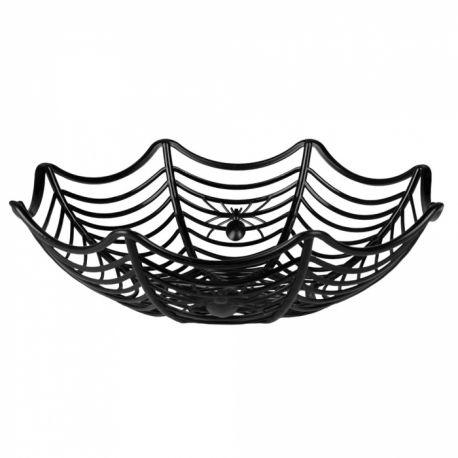 Corbeille araignée pour la récolte d'Halloween !Dimensions: 27cm