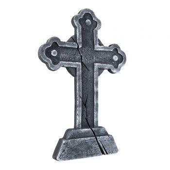 Pierre tombale croix halloween