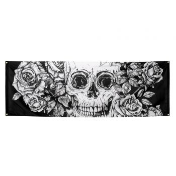 Tenture skull halloween