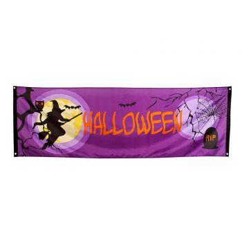 Tenture sorcière halloween