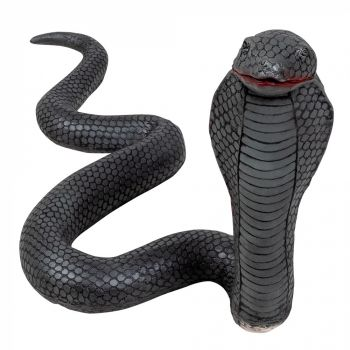 Cobra en latex 65cm