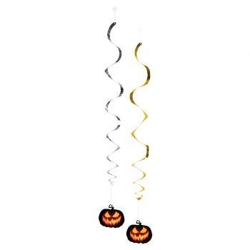 2 Guirlandes creepy pumpkin halloween