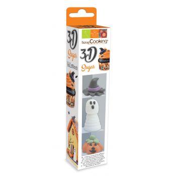 3 Décors sucre 3D Halloween Scrapcooking