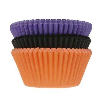 75 caissettes cupcakes couleur Halloween
