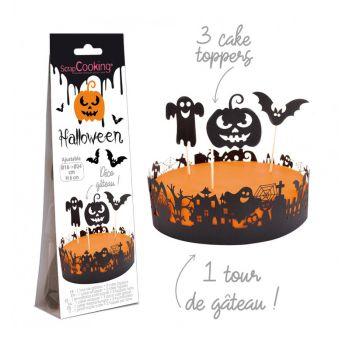 Kit déco de gâteau Halloween Scrapcooking