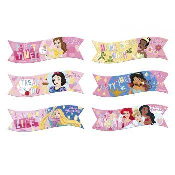 6 drapeaux azyme Princesse Disney