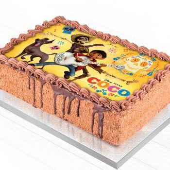 Décor pour gâteau A5 Azyme Coco