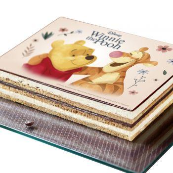 Décor pour gâteau A5 Azyme Winnie l'ourson
