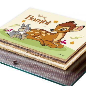 Décor pour gâteau A5 Azyme Bambie