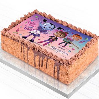 Décor pour gâteau A5 Azyme Vampirina