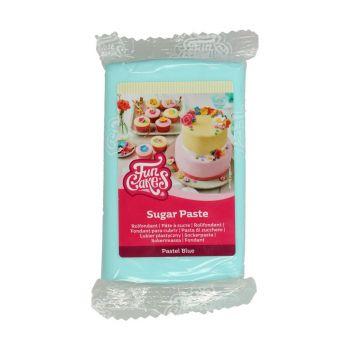 Pâte à sucre Funcakes bleu pastel