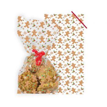 20 Sachets à confiseries gingerbread