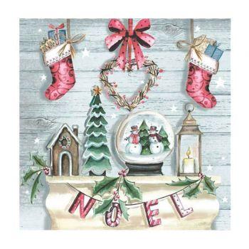 20 Serviettes Noël de rêve