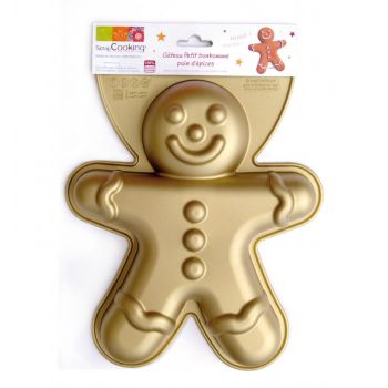 Moule en silicone Gingerbread Scrapcooking