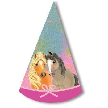 8 chapeaux de fête Pretty Pony