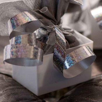 Bolduc hologramme argent 25M