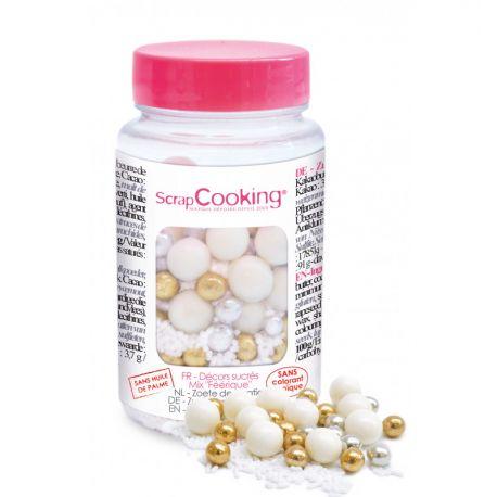 EMBELLISSEZ VOS PÂTISSERIES - Un pot de perles en sucre pour apporter une touche d'élégance, de féerie et de croquant à vos...