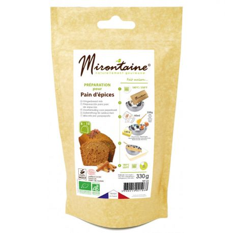 RÉALISEZ UN PAIN D'ÉPICES - Une préparation pour confectionner un cake pain d'épices bio, moelleux et succulent. Faites plaisir à vos...
