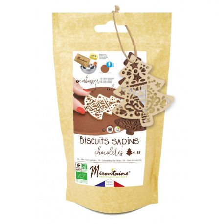 UN KIT PRATIQUE - Contient l'essentiel pour réaliser de délicieux biscuits pain d'épices pour environ 15 biscuits en forme de bonhomme...