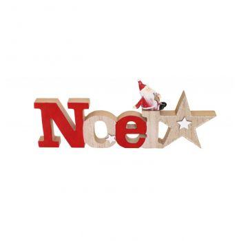 Noël en bois décor Père Noël