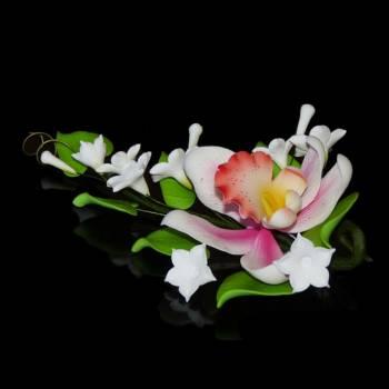 Bouquet Orchidée rose