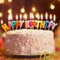 Bougies pour gateau anniversaire