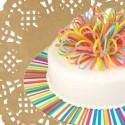 Semelles et dentelles à gâteaux