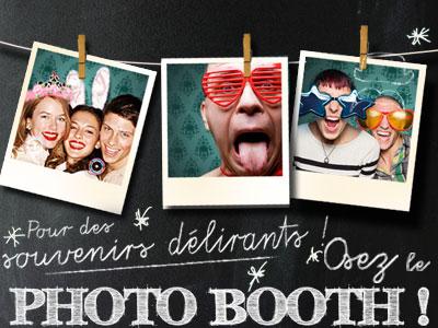 A découvrir les Photobooth