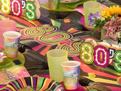 anniversaire année 80