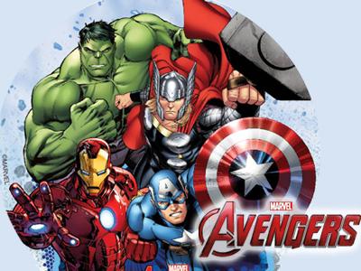 Deco anniversaire Avengers