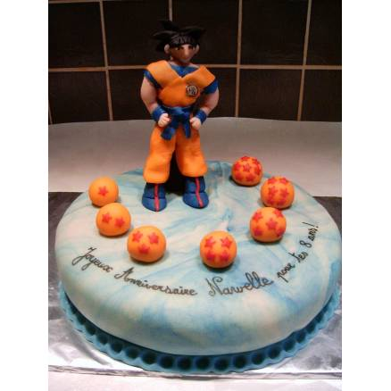deco gateau dragon ball z