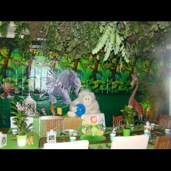 animation anniversaire jungle