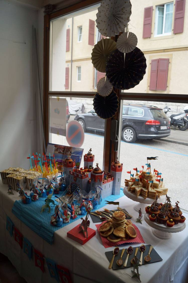 Anniversaire Chevalier - Sweet Table