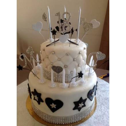 deco gateau anniversaire 18 ans. Black Bedroom Furniture Sets. Home Design Ideas