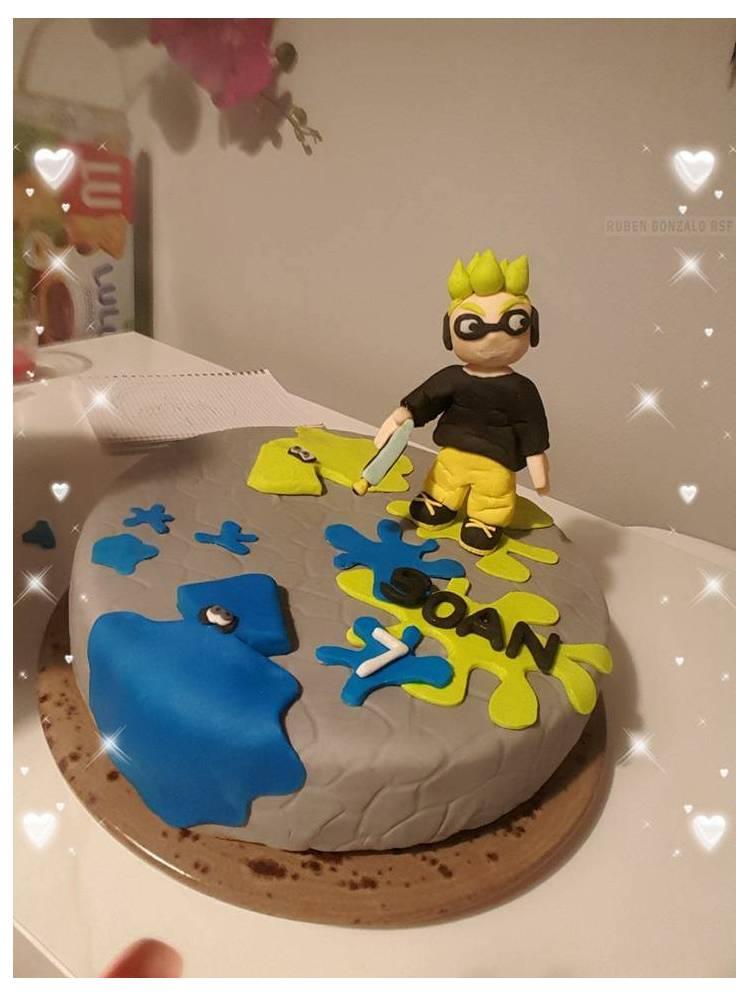 Gâteau Anniversaire Splatoon Photos De Créations Des