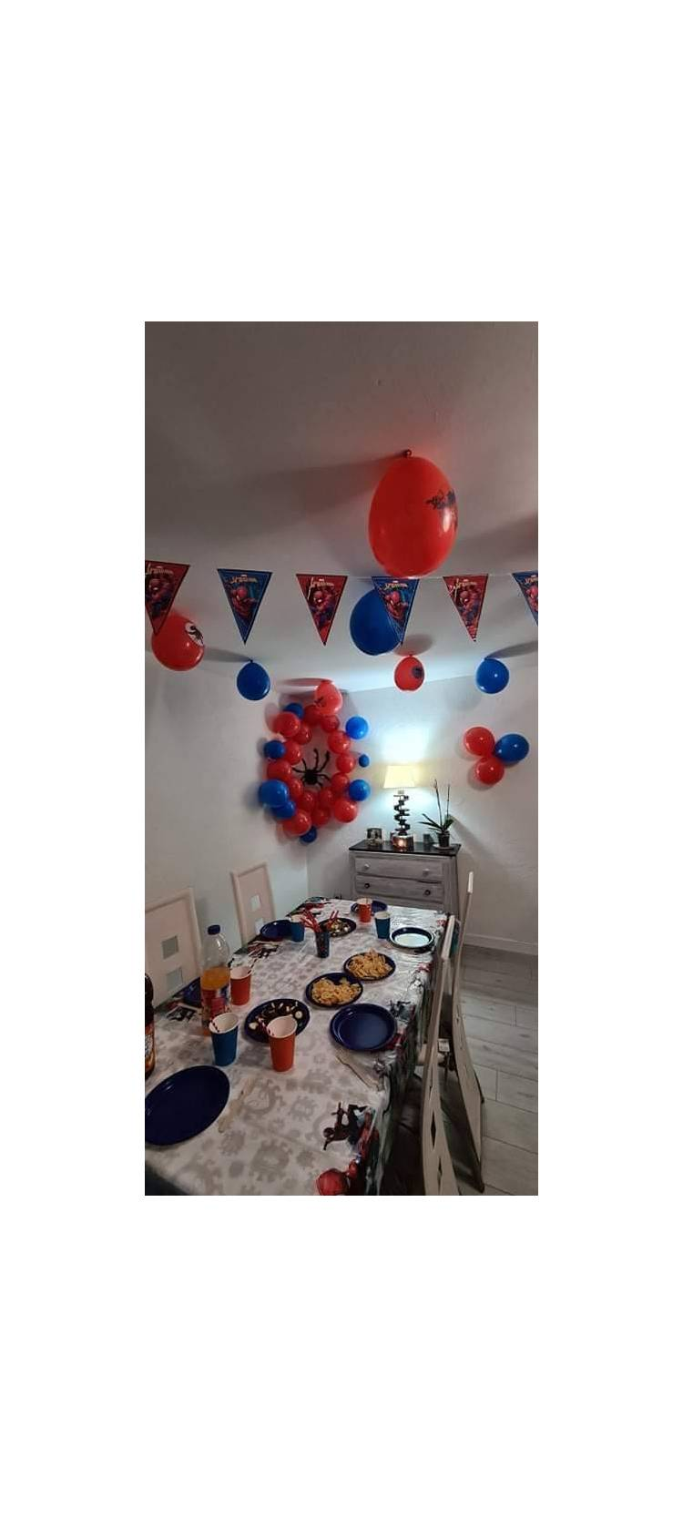 Anniversaire Spiderman