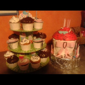 Moule Cupe Cake Geant