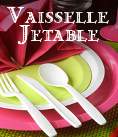 Vaiselle jetable